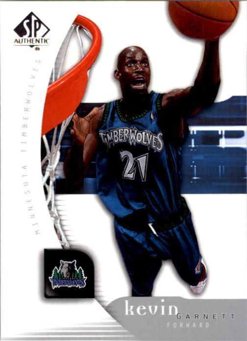 2005-06 SP Authentic #49 Kevin Garnett