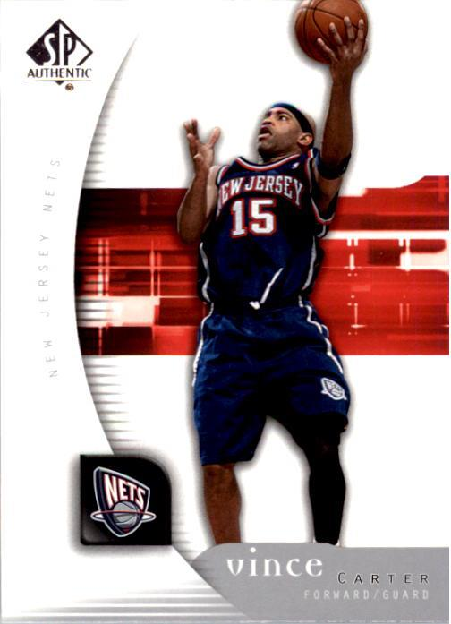 2005-06 SP Authentic #54 Vince Carter