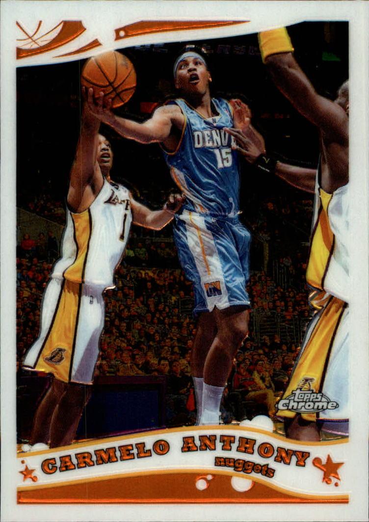 2005-06 Topps Chrome #71 Carmelo Anthony