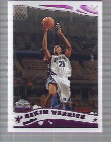 2005-06 Topps Chrome #167 Hakim Warrick RC