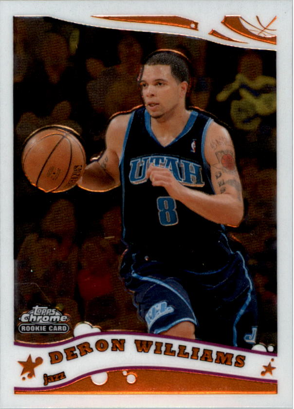 2005-06 Topps Chrome #200 Deron Williams RC