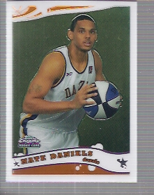 2005-06 Topps Chrome #246 Nate Daniels DL RC