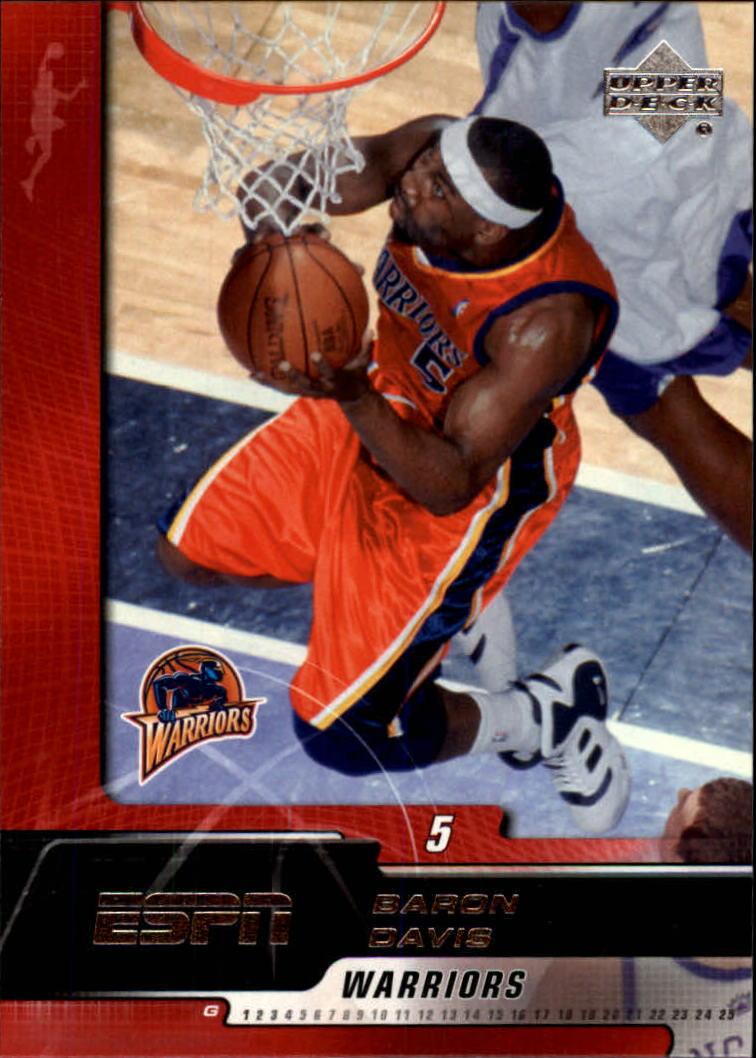 2005-06 Upper Deck ESPN #27 Baron Davis
