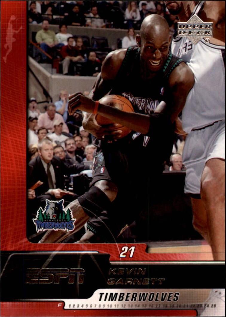2005-06 Upper Deck ESPN #49 Kevin Garnett