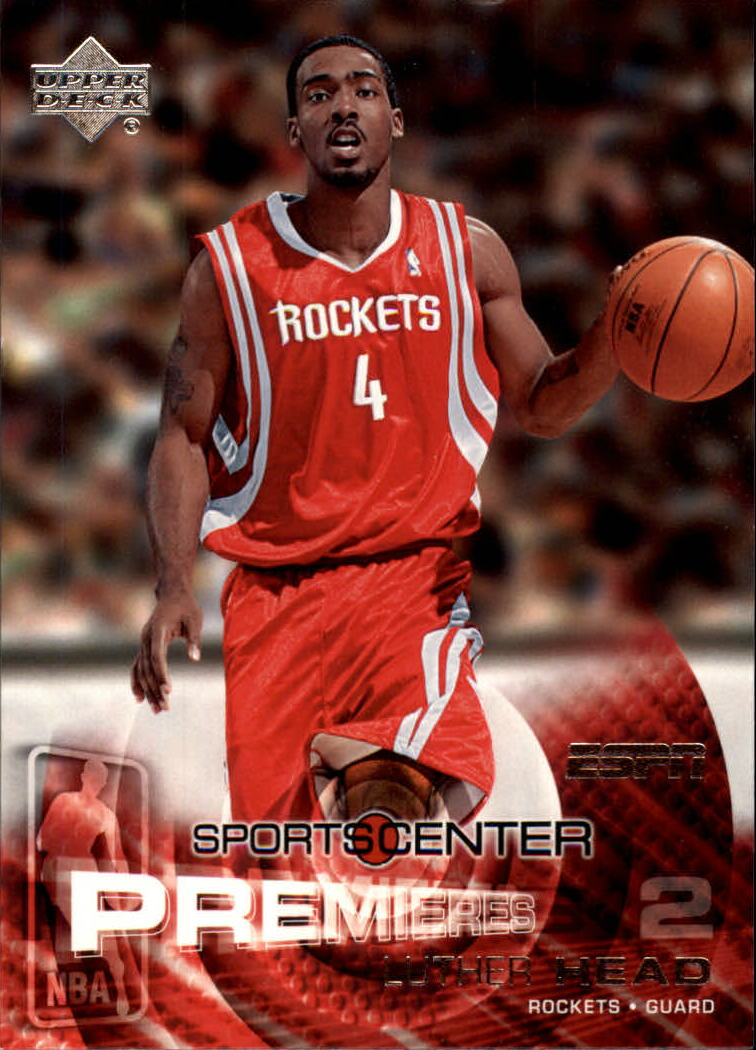 2005-06 Upper Deck ESPN #127 Luther Head RC
