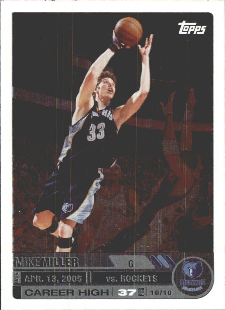 2005-06 Topps Big Game #11 Mike Miller