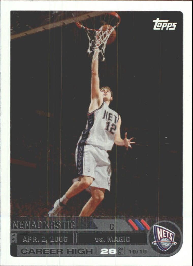2005-06 Topps Big Game #54 Nenad Krstic