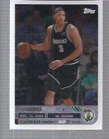 2005-06 Topps Big Game #125 Ryan Gomes RC
