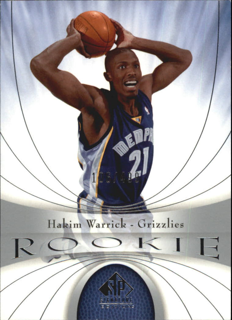 2005-06 SP Signature Edition #117 Hakim Warrick RC