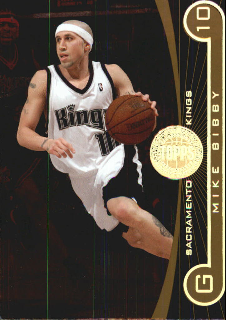 2005-06 Topps First Row 325 #67 Mike Bibby