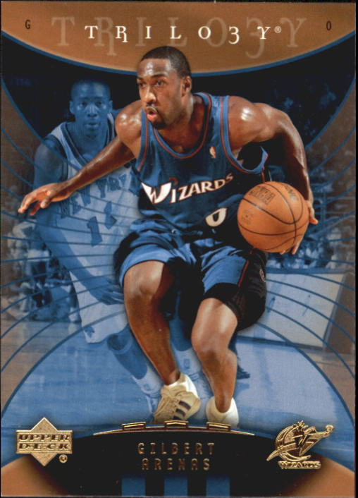 Image is loading 2005-06-Upper-Deck-Trilogy-Washington-Wizards-Basketball- a8559e962
