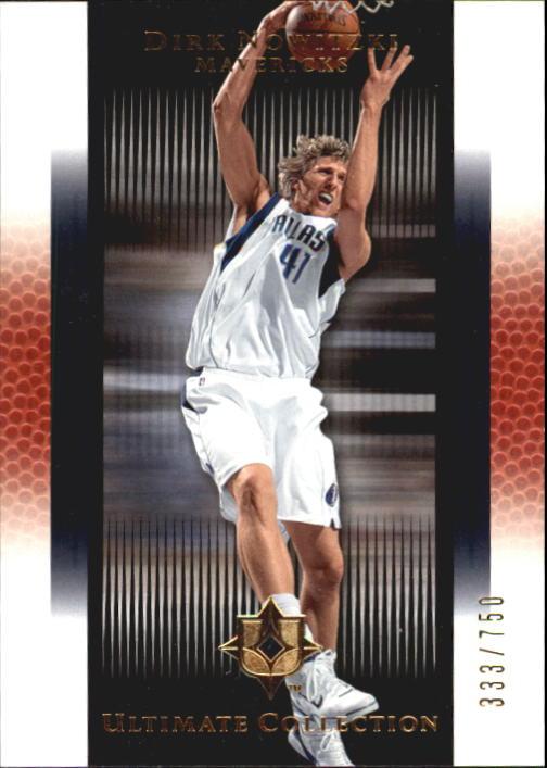 2005-06 Ultimate Collection #26 Dirk Nowitzki