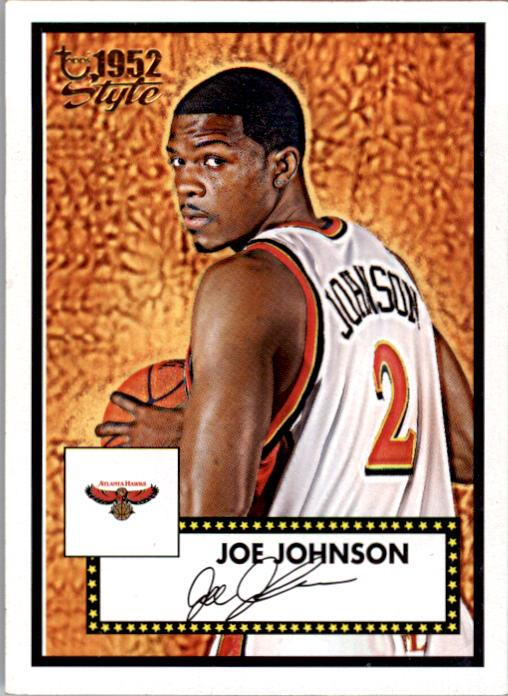 2005-06 Topps Style #2 Joe Johnson
