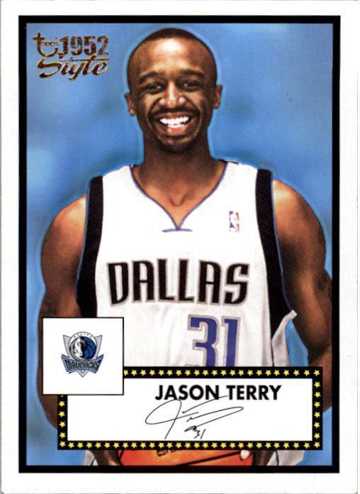 2005-06 Topps Style #5 Jason Terry