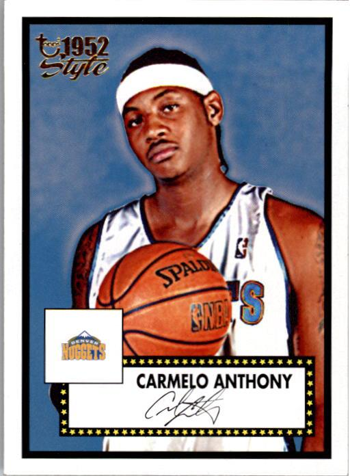 2005-06 Topps Style #6 Carmelo Anthony