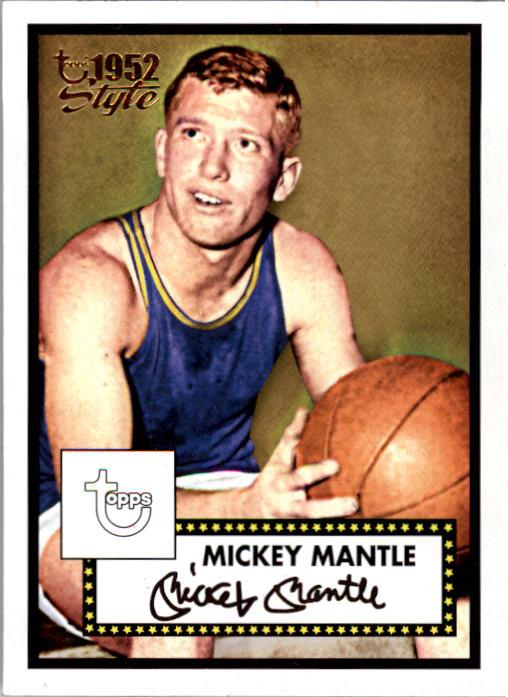 2005-06 Topps Style #7 Mickey Mantle