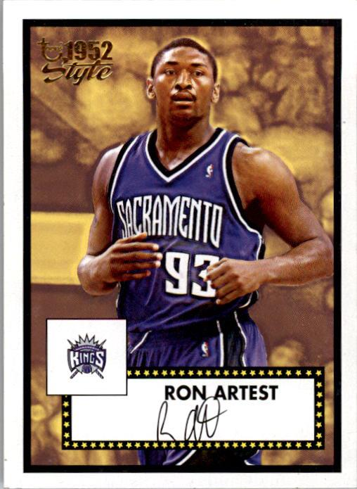 2005-06 Topps Style #8 Ron Artest