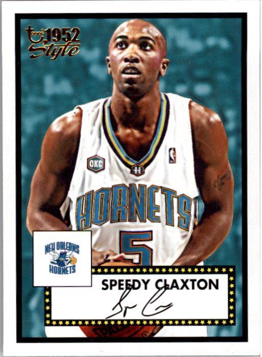 2005-06 Topps Style #12 Speedy Claxton
