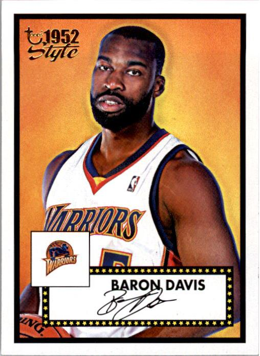 2005-06 Topps Style #13 Baron Davis