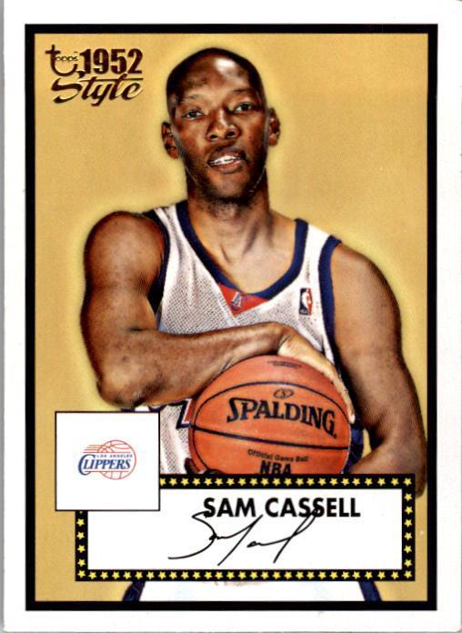 2005-06 Topps Style #18 Sam Cassell