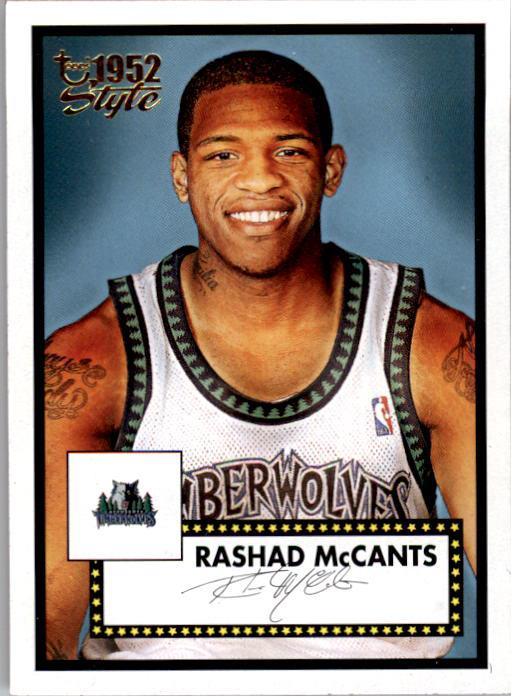 2005-06 Topps Style #134 Rashad McCants RC