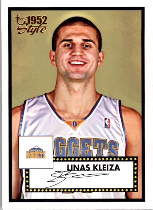 2005-06 Topps Style #137 Linas Kleiza RC