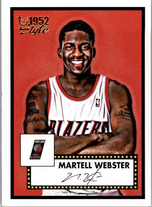 2005-06 Topps Style #140 Martell Webster RC