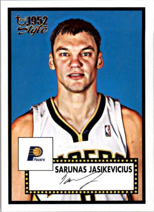 2005-06 Topps Style #141 Sarunas Jasikevicius RC