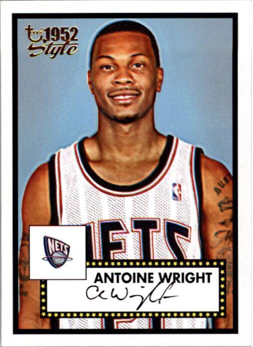 2005-06 Topps Style #142 Antoine Wright RC