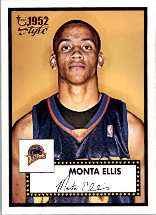 2005-06 Topps Style #146 Monta Ellis RC
