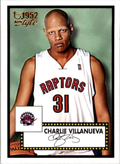 2005-06 Topps Style #148 Charlie Villanueva RC