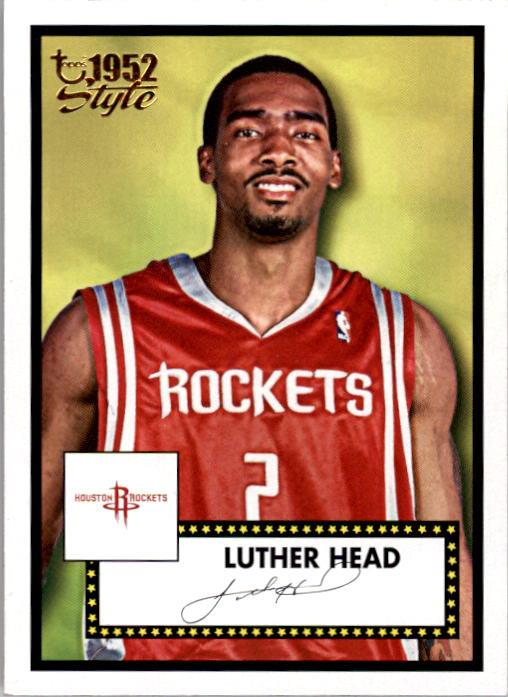 2005-06 Topps Style #152 Luther Head RC