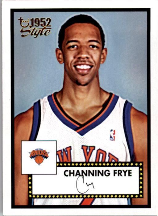 2005-06 Topps Style #155 Channing Frye RC