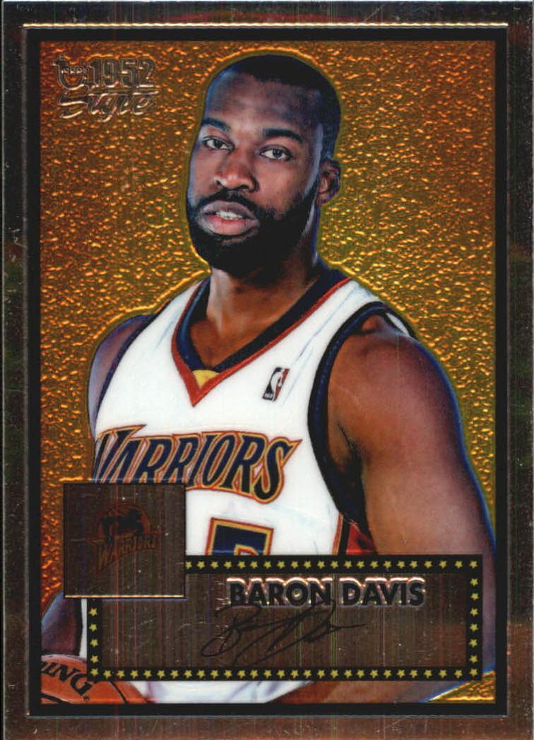 2005-06 Topps Style Chrome #13 Baron Davis