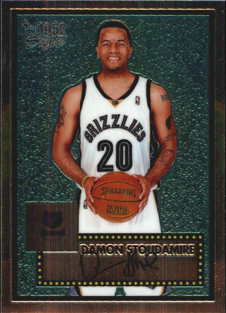 2005-06 Topps Style Chrome #14 Damon Stoudamire