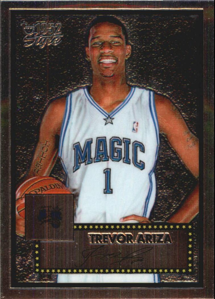 2005-06 Topps Style Chrome #20 Trevor Ariza