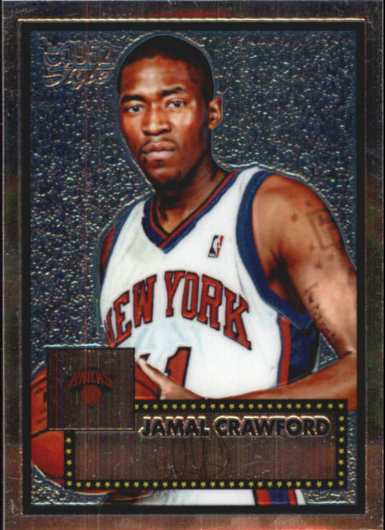 2005-06 Topps Style Chrome #22 Jamal Crawford