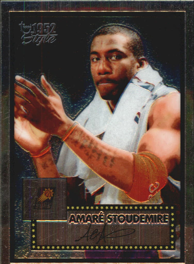 2005-06 Topps Style Chrome #26 Amare Stoudemire