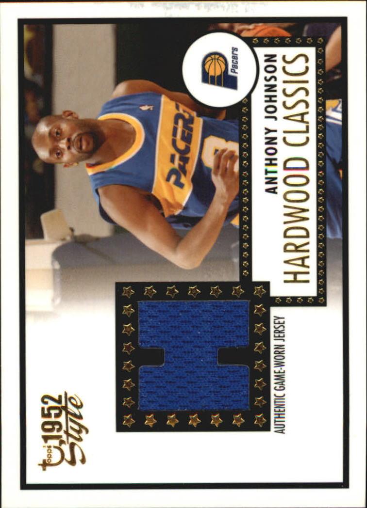 2005-06 Topps Style Hardwood Classics #AJ Anthony Johnson