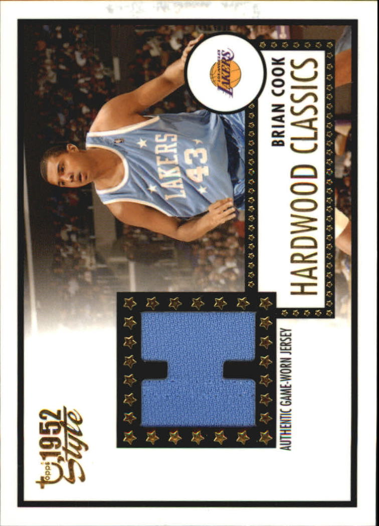 2005-06 Topps Style Hardwood Classics #BC Brian Cook