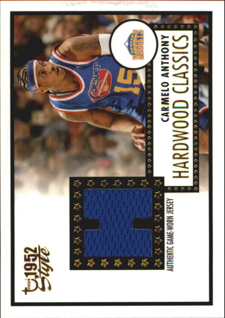 2005-06 Topps Style Hardwood Classics #CA Carmelo Anthony