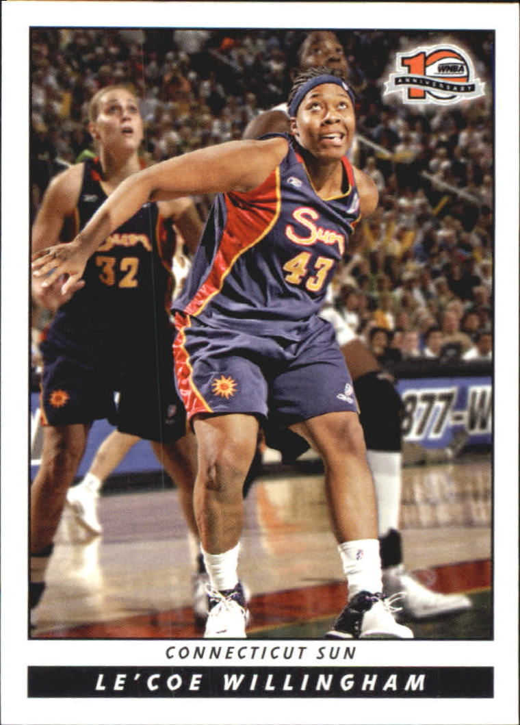 2006 WNBA #52 Le'coe Willingham