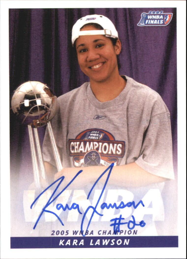 2006 WNBA Autographs #17 Kara Lawson