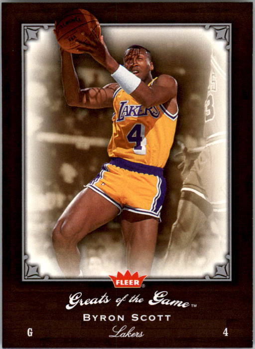 2005-06 Greats of the Game #7 Byron Scott