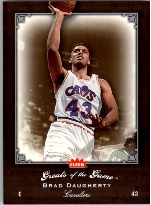 2005-06 Greats of the Game #8 Brad Daugherty