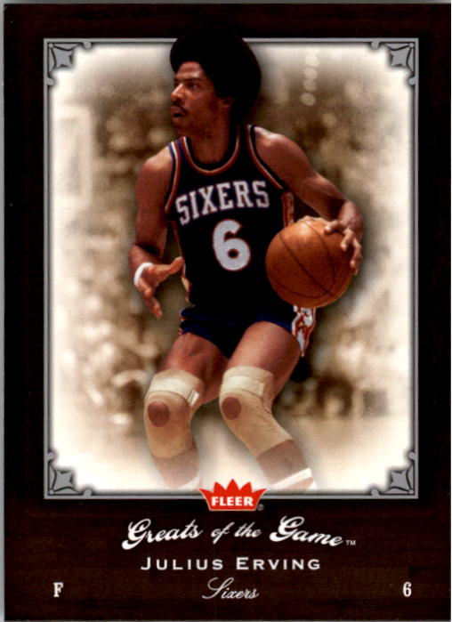 2005-06 Greats of the Game #11 Julius Erving