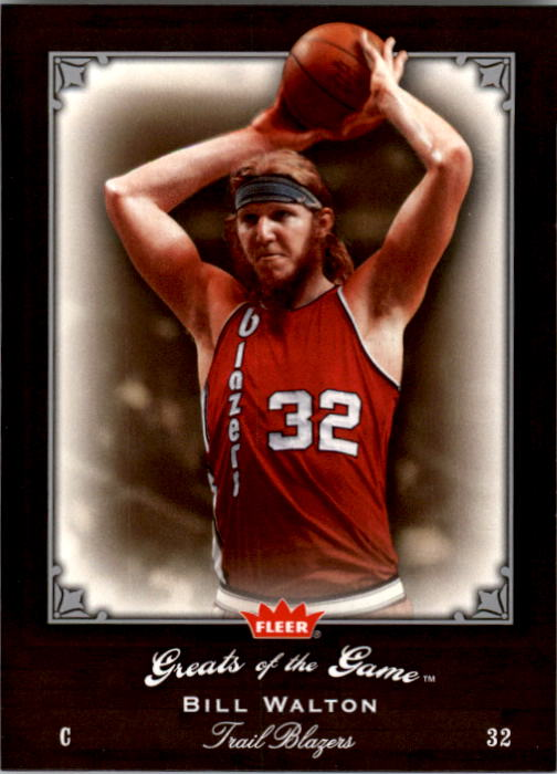 2005-06 Greats of the Game #14 Bill Walton