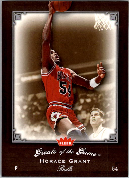2005-06 Greats of the Game #17 Horace Grant
