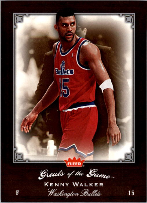 2005-06 Greats of the Game #20 Kenny Walker
