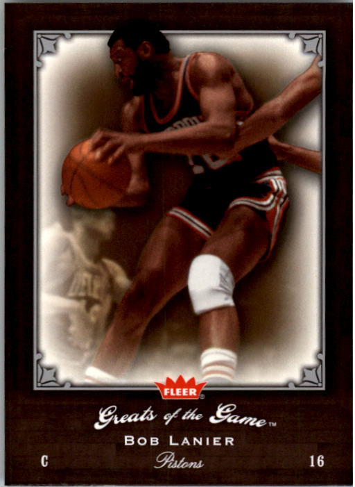 2005-06 Greats of the Game #28 Bob Lanier
